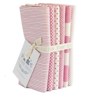 Tilda Basic Collection Pink Fat Quarter Pack
