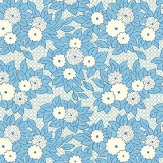 Vintage 1930s Floral Fabric WS312B