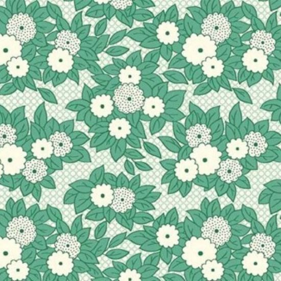 Vintage 1930s Floral Fabric WS312G