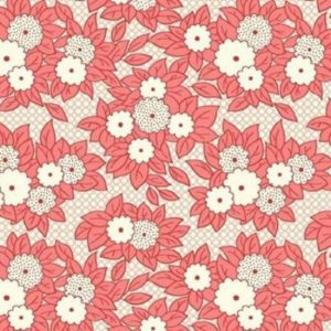 Vintage 1930s Floral Fabric WS312P
