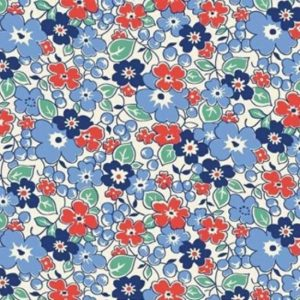 Vintage 1930s Floral Fabric WS313B