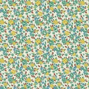 Vintage 1930s Floral Fabric WS314g