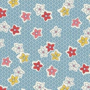 Vintage 1930s Floral Fabric WS317B