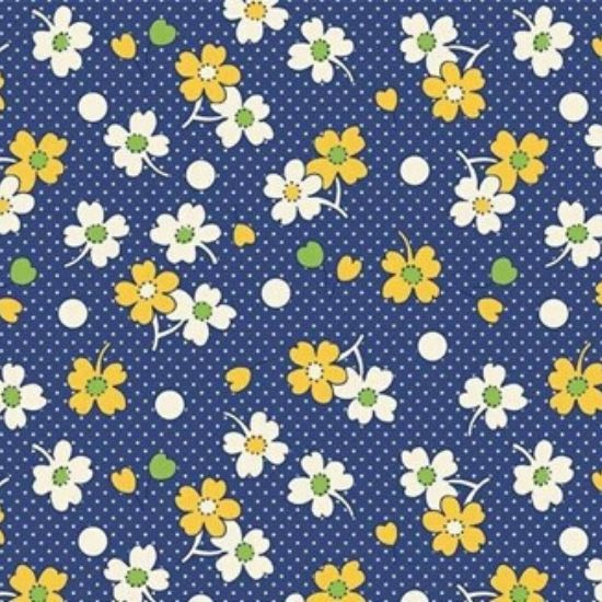 Vintage 1930s Floral Fabric WS318BN
