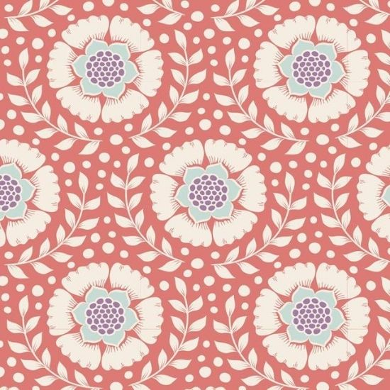 Tilda Maple Farm Wheatflower Rosehip Fabric 100261