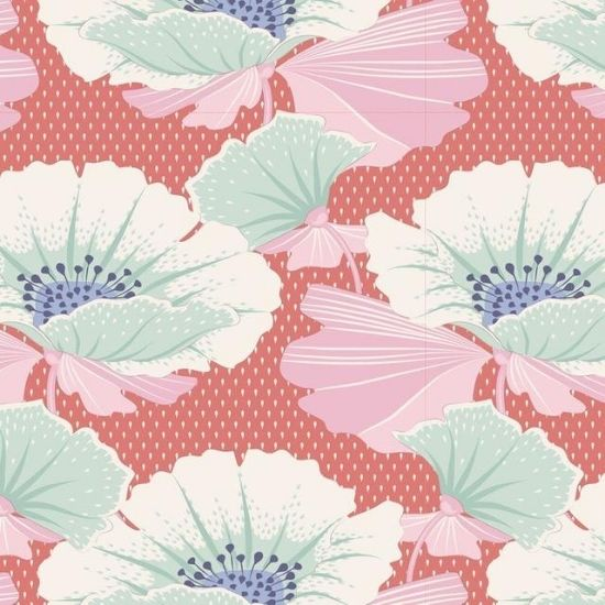 Tilda Maple Farm Gwendelyn Rosehip Fabric 100263