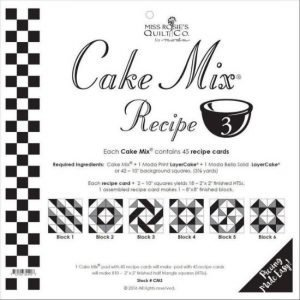 Moda Cake Mix 3 by Miss Rosie's Quilt Co