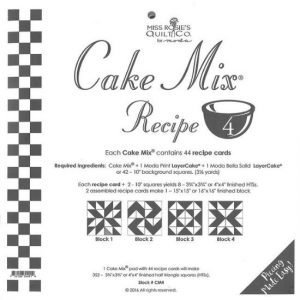 Moda Cake Mix Recipe 4 by Miss Rosie's Quilt Co