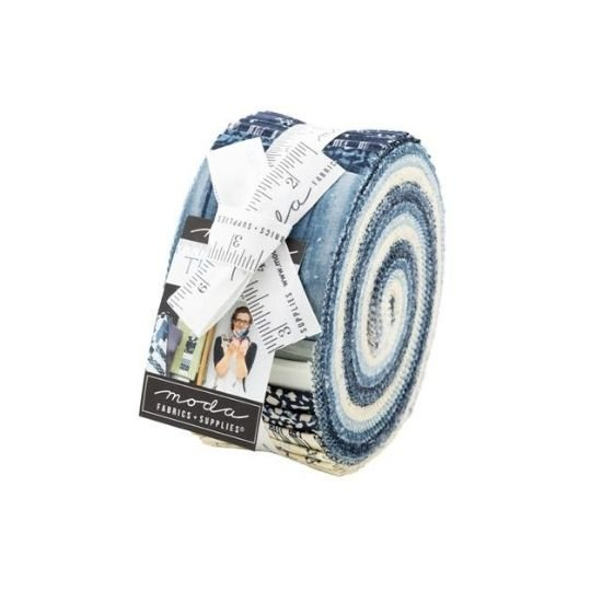 Moda The Blues Jelly Roll by Janet Clare M16900JR