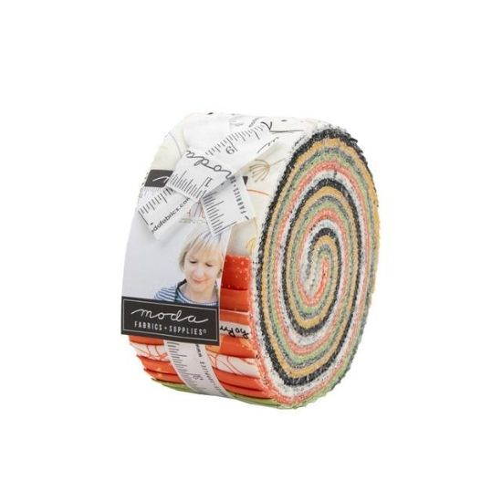 Moda Quotation Jelly Roll by Zen Chic M1730JR