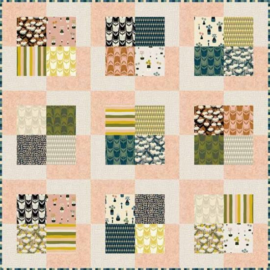 Perennial Square by Square Quilt Kit