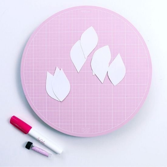 Sue Daley Designs Pink Rotating Mat 10""