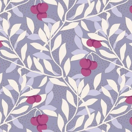 Tilda Maple Farm Cherrybush Slate Fabric 100275