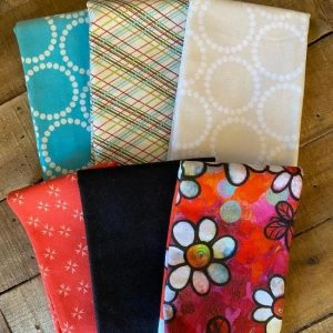 Fat Quarter Bundle Mixed 6