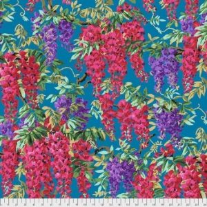 Kaffe Fassett Aug 2020 Collective Wisteria PWPJ102-Teal