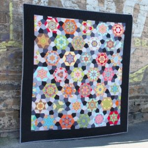 Soutern Aurora Quilt Pattern & EPP Pack by Sharon Burgess of Lilabelle Lane Creations