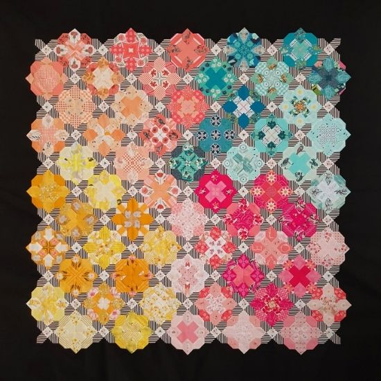 Prudence Quilt Pattern & Epp Kit by Sharon Burgess of Lilabelle Lane Creations