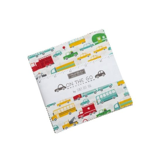 Moda On the Go Charm Square Pack by Stacey Iest Hsu M20720PP