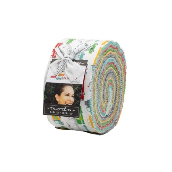 Moda On the Go Jelly Roll by Stacey Iest Hsu M20720JR