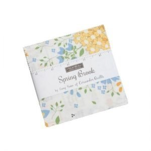 Moda Spring Brook Charm Square Pack by Corey Yoder M29110PP