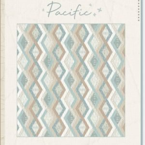 Pacific Quilt Kit using Serenity Fusion Art Gallery Fabrics