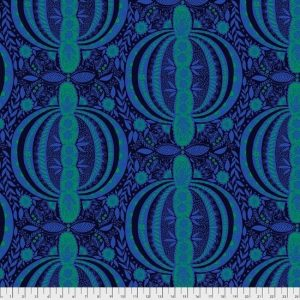 Triple Take Fabric Panel by Anna Maria Horner for Free Spirit Fabrics PWAM017-Ocean