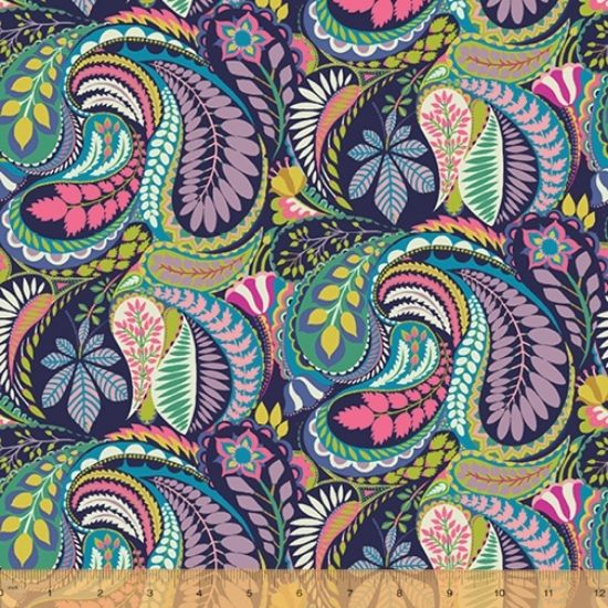 Solstice Fabric by Sally Kelly for Windham Fabics 51928-X