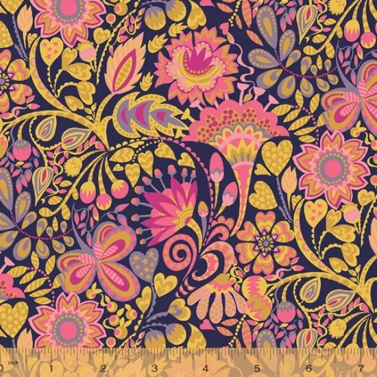 Solstice Fabric by Sally Kelly for Windham Fabics 51930-10