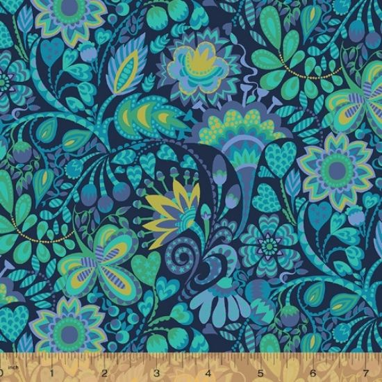 Solstice Fabric by Sally Kelly for Windham Fabics 51930-2