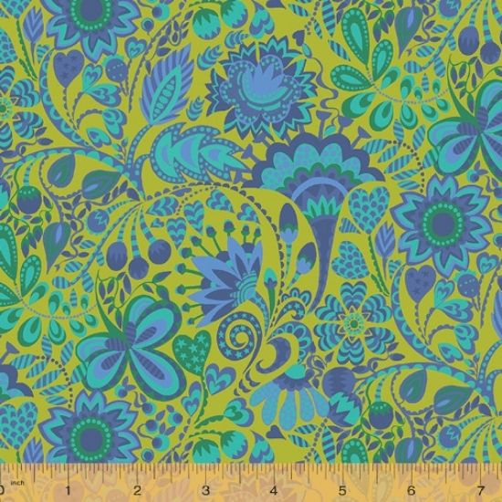 Solstice Fabric by Sally Kelly for Windham Fabics 51930-5