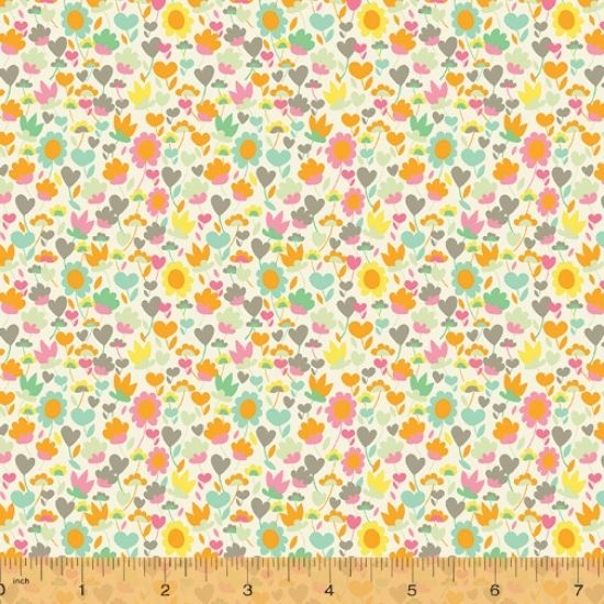 Solstice Fabric by Sally Kelly for Windham Fabics 51936-4