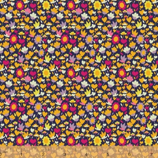 Solstice Fabric by Sally Kelly for Windham Fabics 51932-X