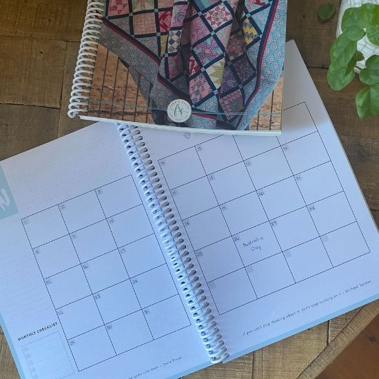 How to start Planning using your new Fabric Sauce Creative Planner!
