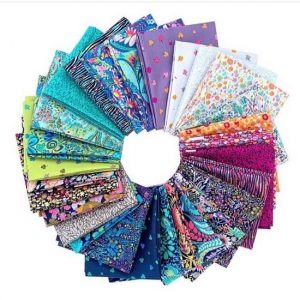 Solstice Fat Quarter bundle by Sally Kelly for Windham Fabrics