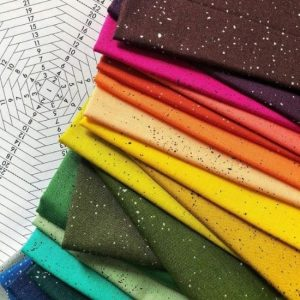 Spectrastatic II Fat Quarter Bundle by Giucy Giuce for Andover Fabrics