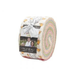 Moda Spring Chicken Jelly Roll M55520JR by Sweetwater
