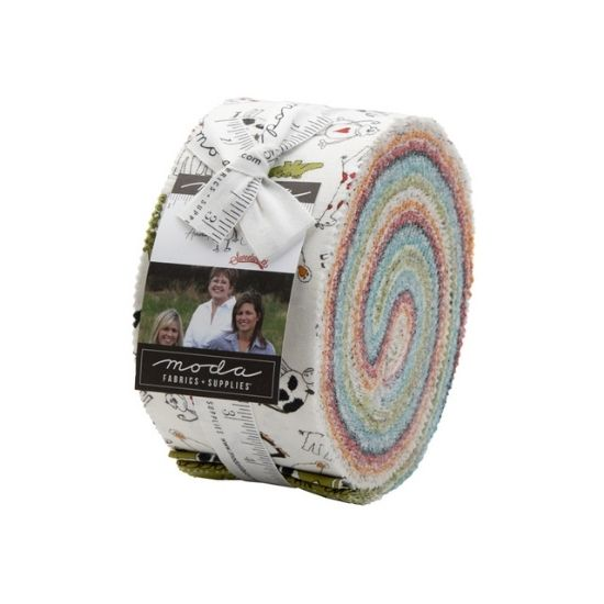 Moda Animal Crackers Jelly Roll by Sweetwater M5800JR