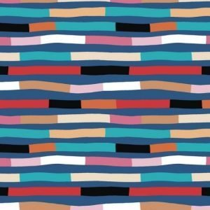 Wandering Lines Fabric by Robyn Hammond for Devonstone Collection DV3875