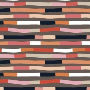 Wandering Lines Fabric by Robyn Hammond for Devonstone Collection DV3877